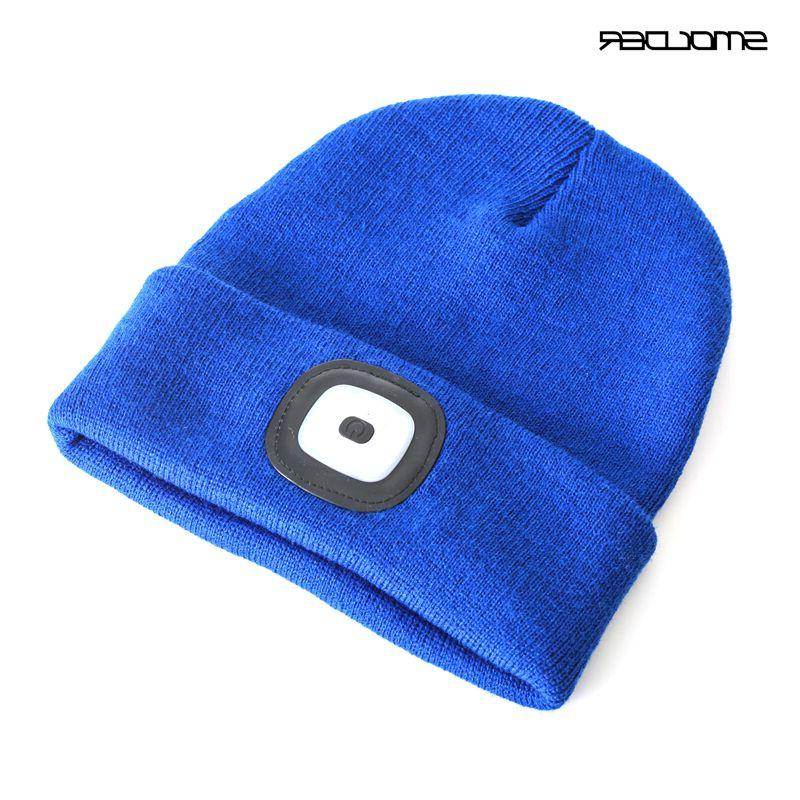 Rechargeable USB LED Beanie Cap Warm Hat <font><b>Hands</b></font> <font><b>Free</b></font> <font><b>Flashlight</b></font> Hunting,Camping,Jogging,Fishing