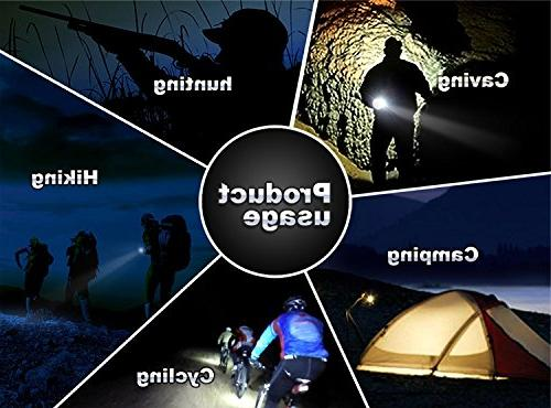 Lumen Headlamp Bright Headlight Head Flaslight 3 XM-L2 LED Charger Camping Hunting Riding Kids