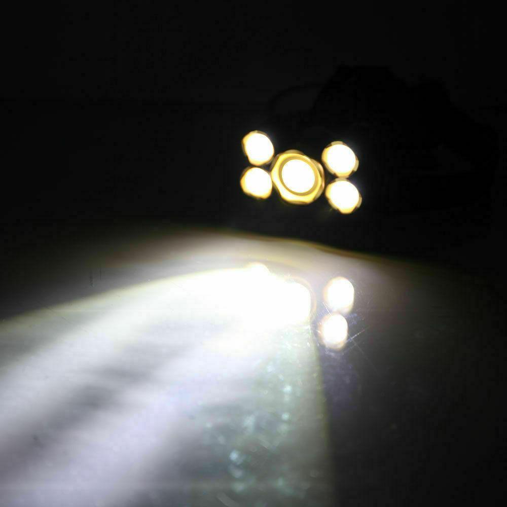 Super-bright XM-L Headlight Flashlight