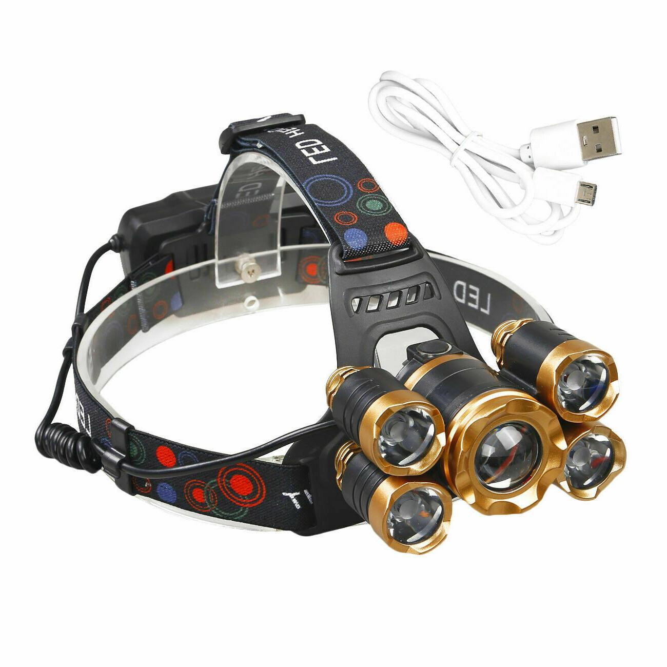 XM-L T6 LED Headlight