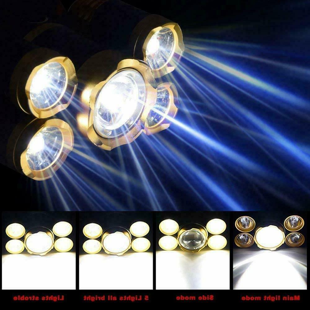 Super-bright XM-L LED Headlight Flashlight