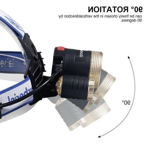 Super T6 LED Headlamp 18650 Headlight