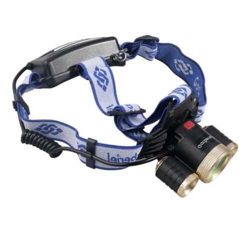 Super Bright T6 Rechargeable 18650 Headlight