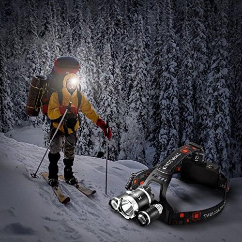 Super Lumens Best CREE LED and Samsung Rechargeable Lights Camping Hiking