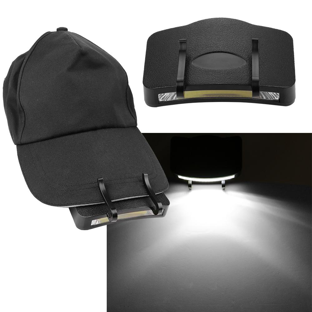 Super Light Headlight Lamp Flashlight Head Hat Light <font><b>Clip</b></font> Fishing Head Lamp