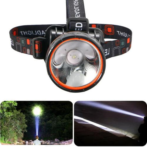 1x Bright LED Headlamp waterproof Rechargeable Headlight 500