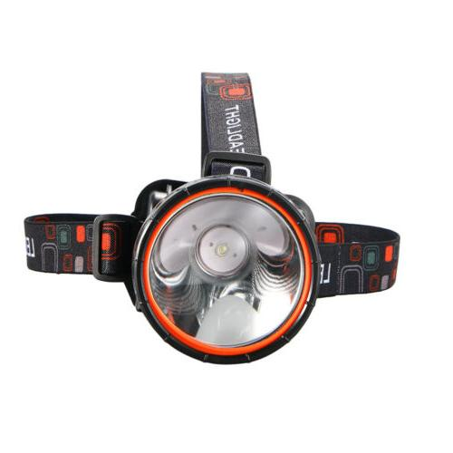1x Bright LED waterproof Rechargeable Headlight