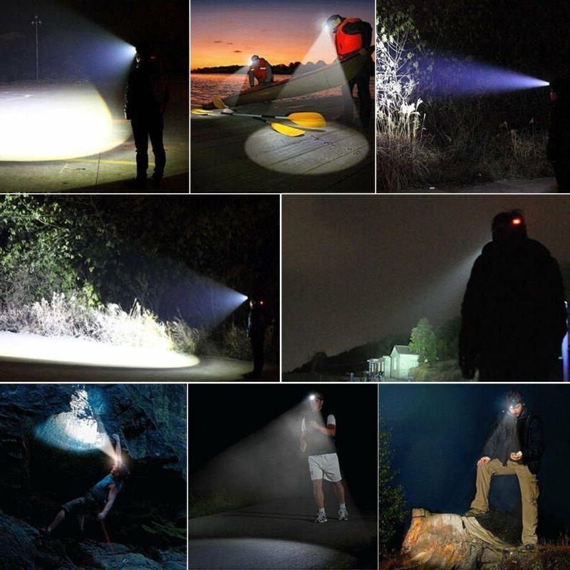 SuperBright LED 90000Lumens Headlight Head Camp
