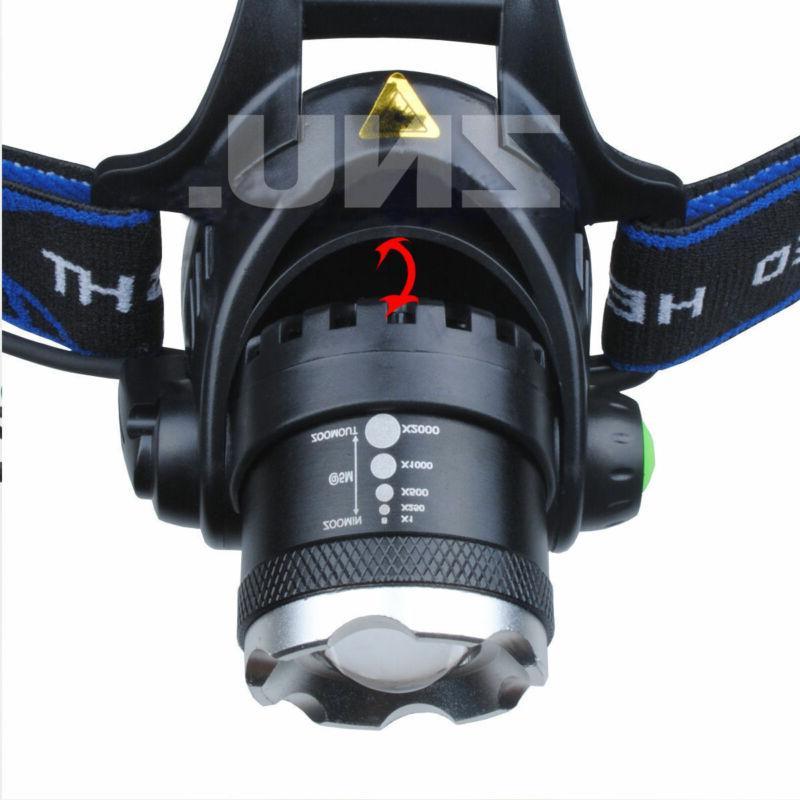 SuperBright LED 90000Lumens Headlamp Headlight Head Camp US
