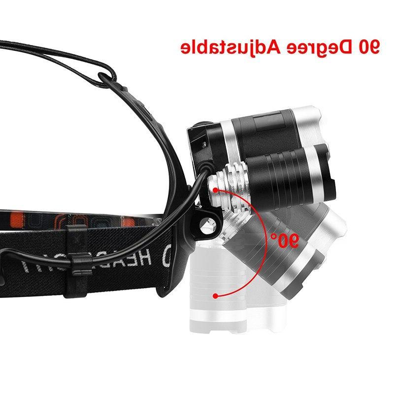 T30 <font><b>LED</b></font> Lumen Light Ultra Bright <font><b>Rechargeable</b></font> Modes Waterproof Hunting