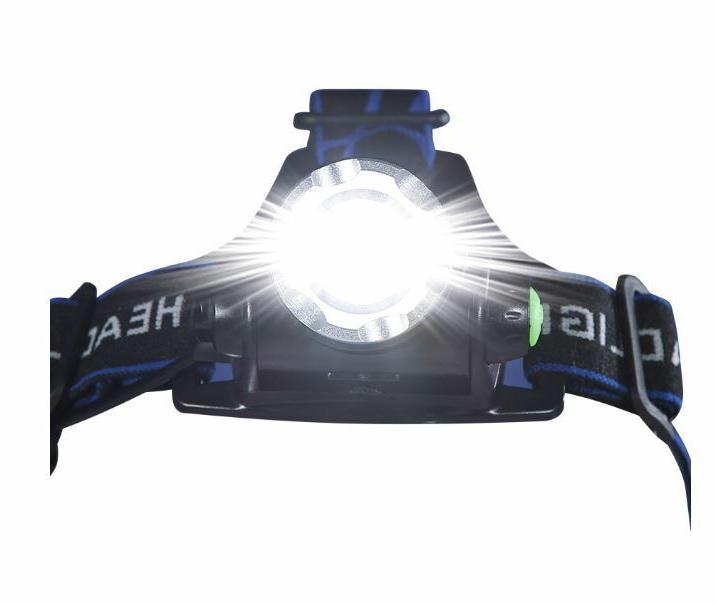 Taclight Headlamp, Flashlight As Sealed New