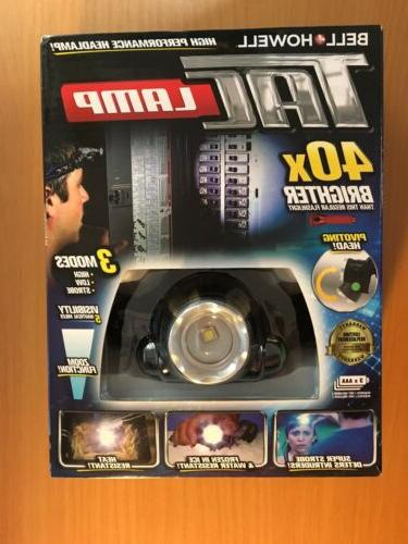 headlamp hands free flashlight 40x brighter