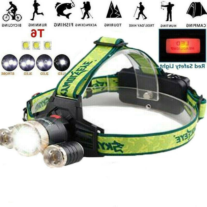 Tactical 90000LM 3X T6 LED Flashlight