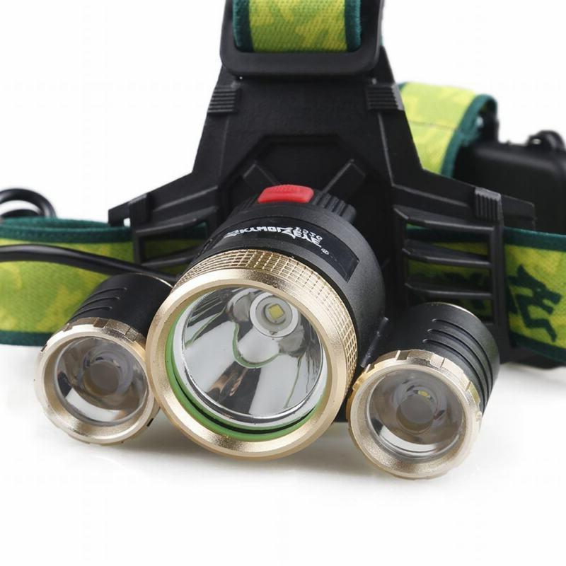 Tactical 3X LED Flashlight Head