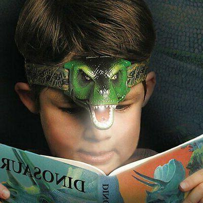 The DinoBryte LED Headlamp T-Rex Headlamp