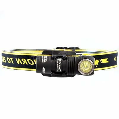 ArmyTek Tiara Lumen USB Rechargeable Headlamp w/