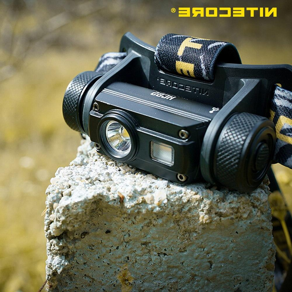 Top Free <font><b>NITECORE</b></font> Battery U2 LED Headlight Waterproof Camping