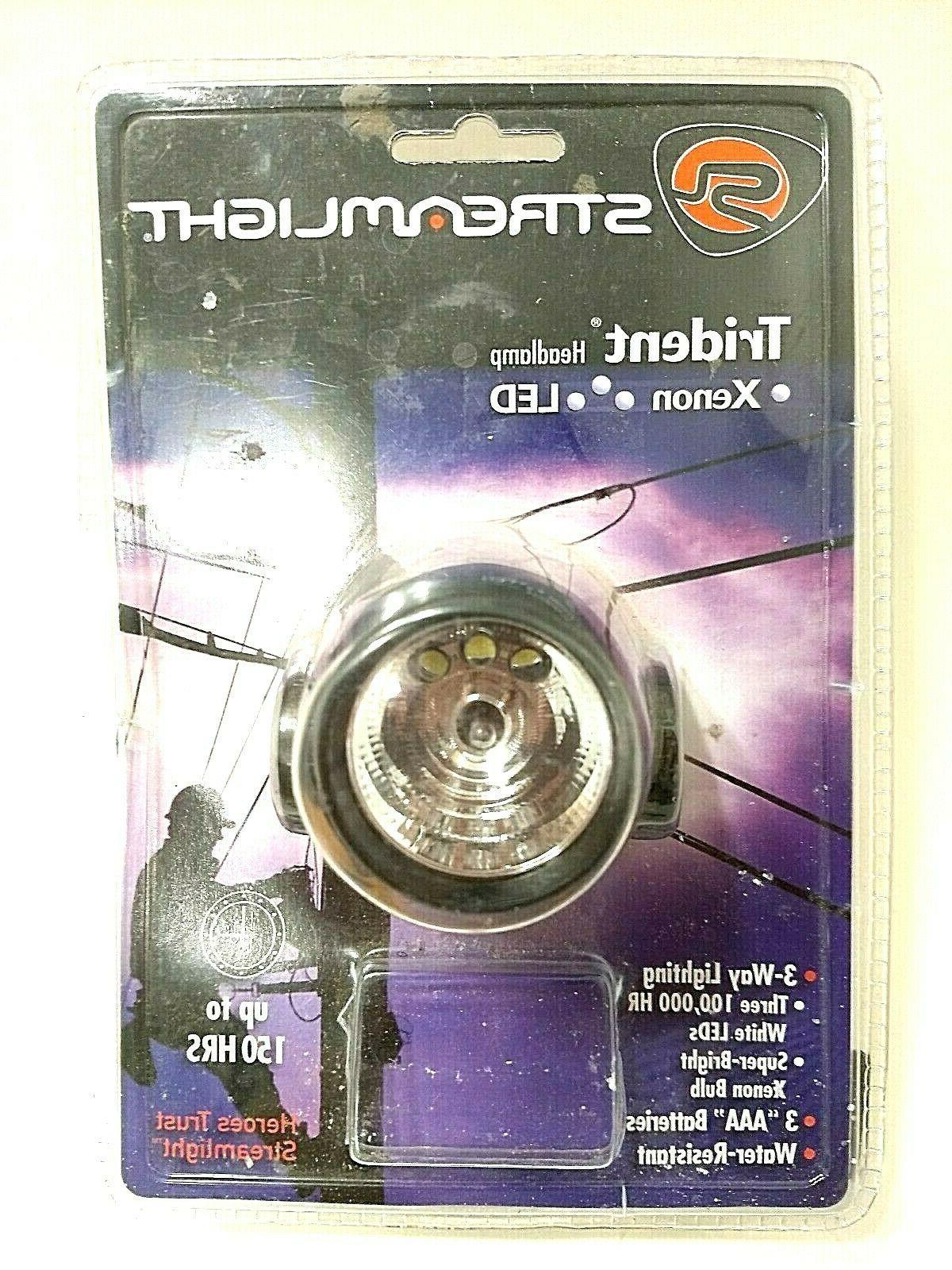 trident headlamp 3 white led s super