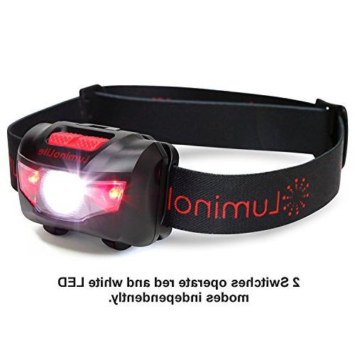 Ultra CREE Headlamp 160 5 & Strap, IPX6 Great Running, Hiking