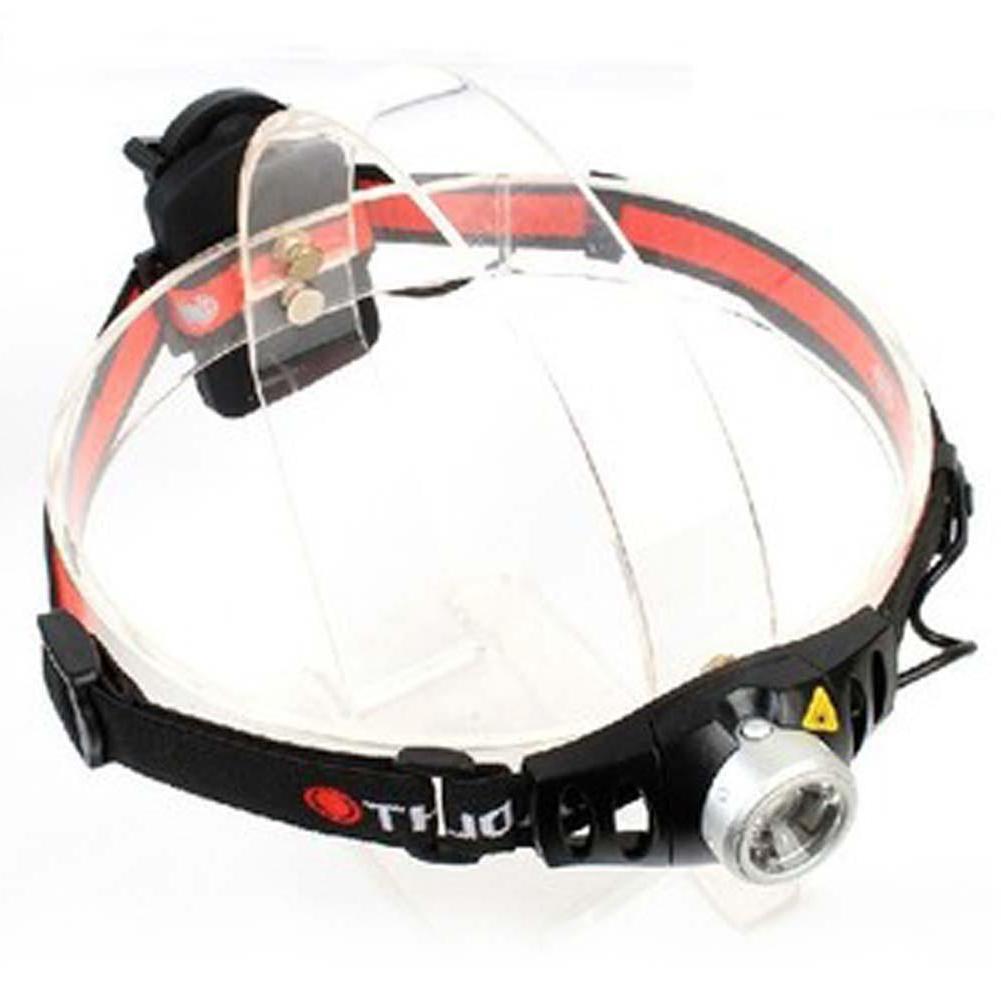 hunting Portable LED Headlight Bright <font><b>500</b></font> <font><b>Lumen</b></font> Q5 <font><b>Headlamp</b></font> Headlight Comfortable Brand Red