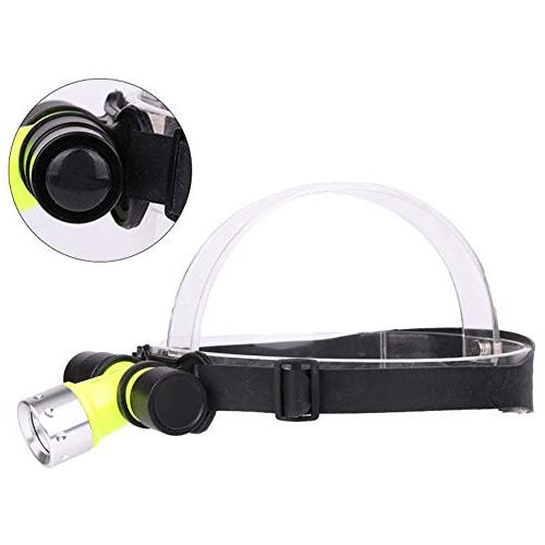 underwater waterproof diving headlamp dive