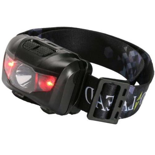 us 5w led waterproof headlamp flashlight camping