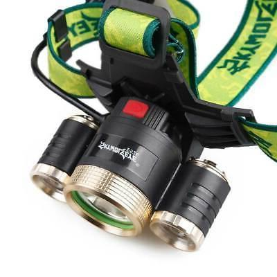 USA Stock Headlamp Flashlight Head Hiking