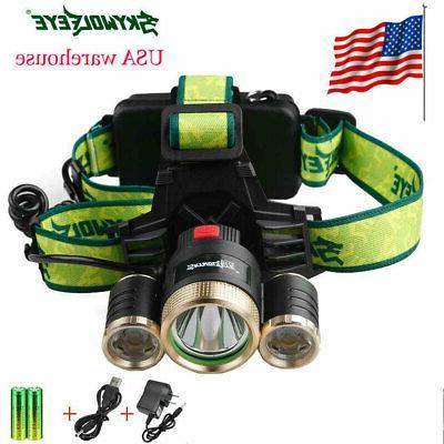 usa stock led headlight headlamp flashlight head