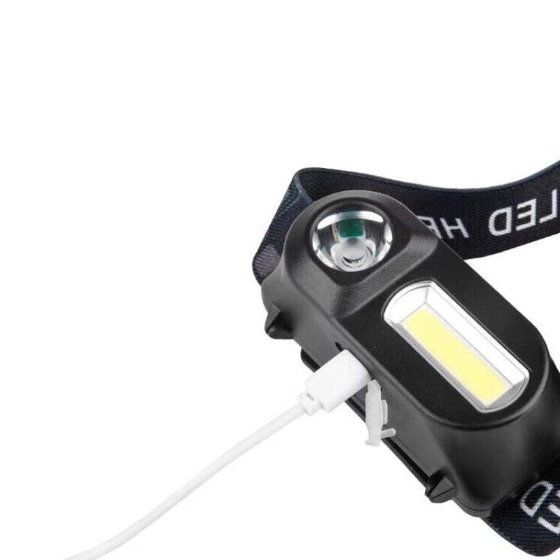 USB <font><b>Headlamp</b></font> Nightlight Battery <font><b>LED</b></font>