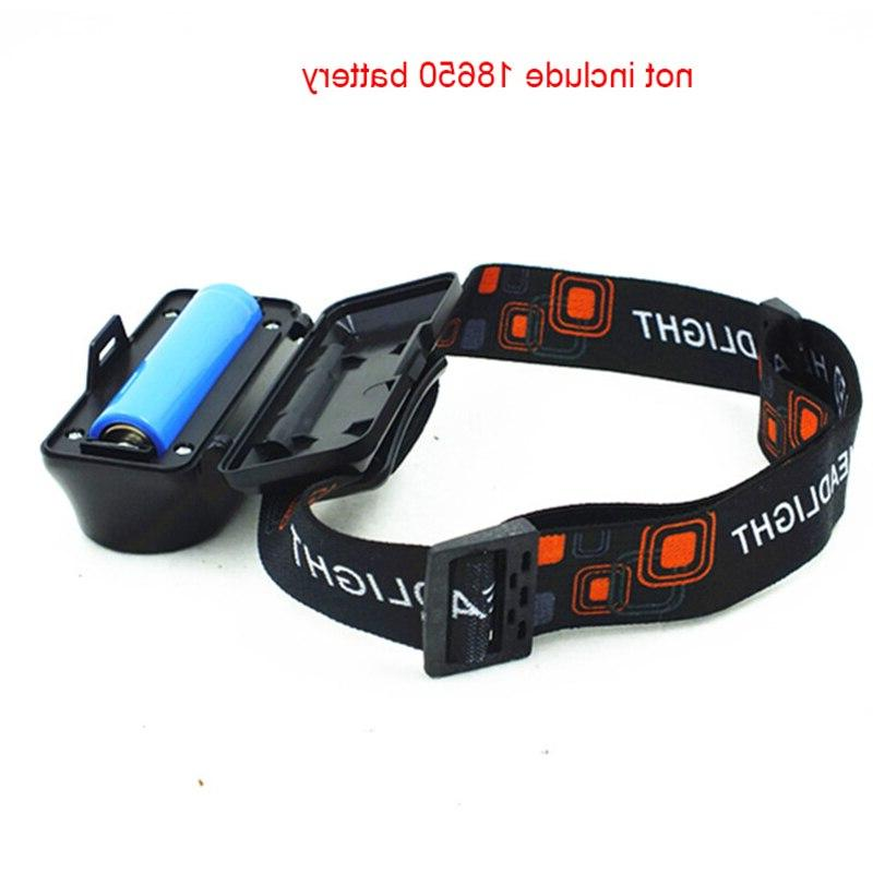 USB Q5+COB <font><b>Headlamp</b></font> Modes Nightlight Outdoor Battery