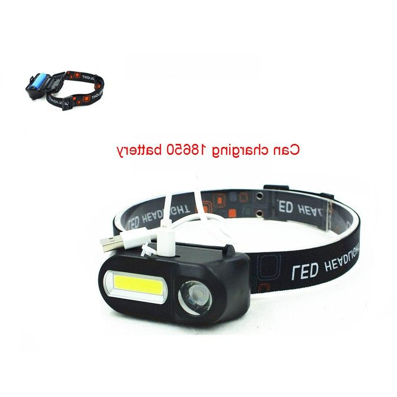 USB <font><b>Rechargeable</b></font> <font><b>Headlamp</b></font> Portable Nightlight Camping Battery Torch