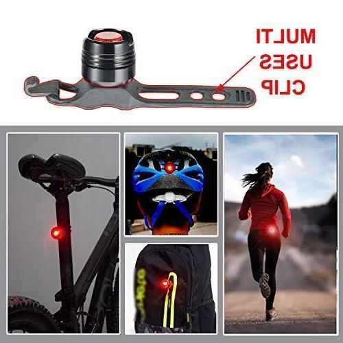 Victagen Light,Super 2400 and Free Bike Tail Light Helmet Light, Easy to for Mountain Road