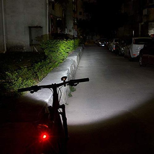 Victagen Light,Super 2400 and Free Bike Tail Light Light, Bicycle Easy for Mountain Road Kids Bikes