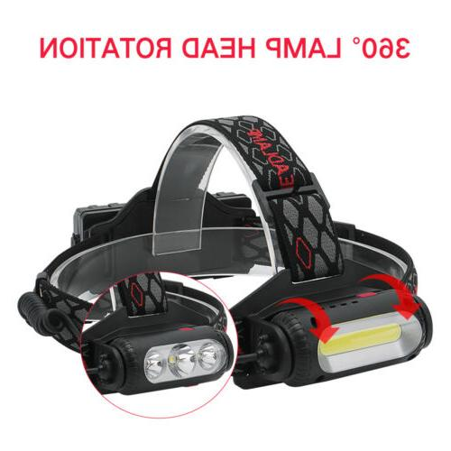 USB Rechargeable Light Hunting 2X18650