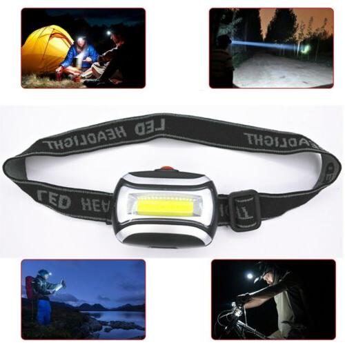 Waterproof Head Light Flashlight Working Lamp Hiking
