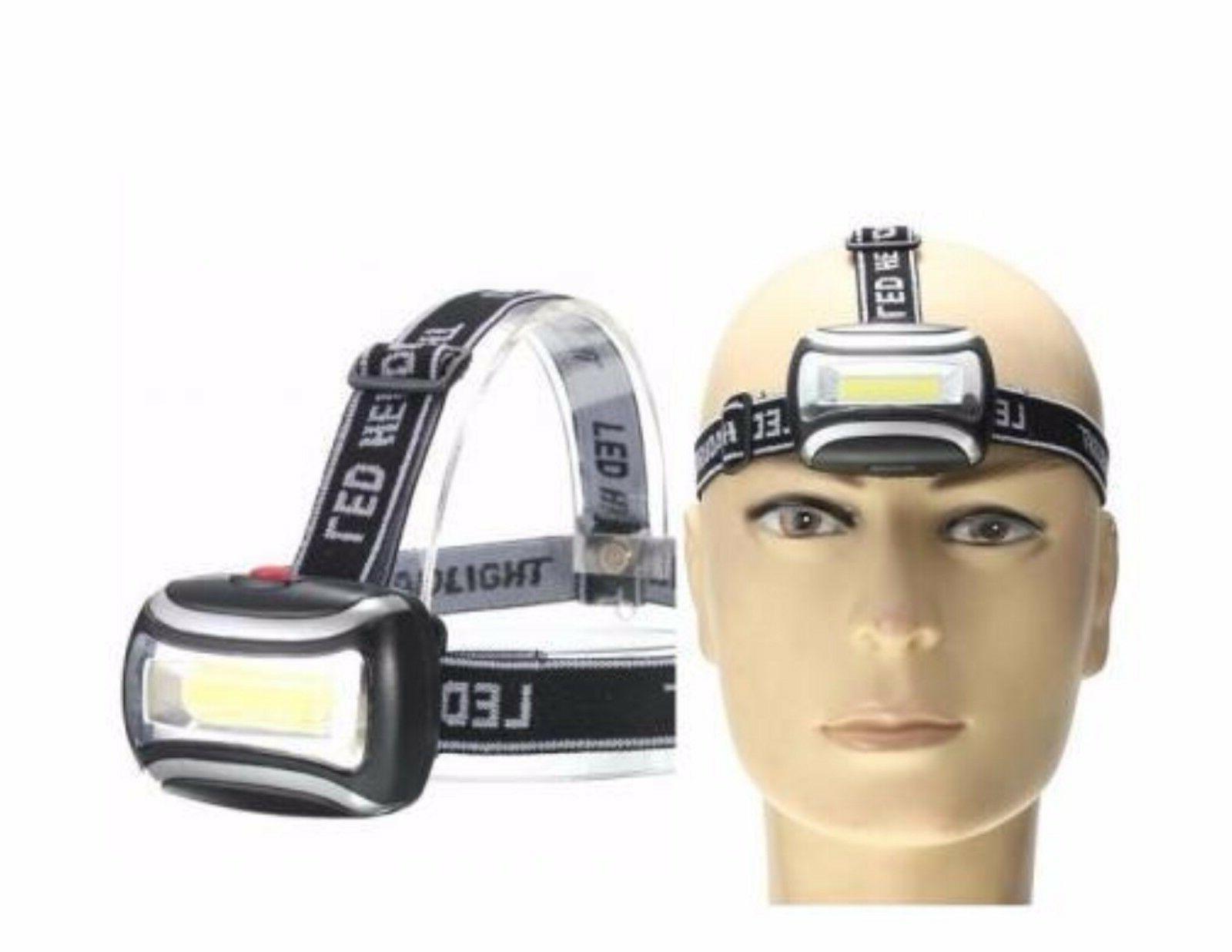 waterproof headlamp led zoom 3 mode outdoor