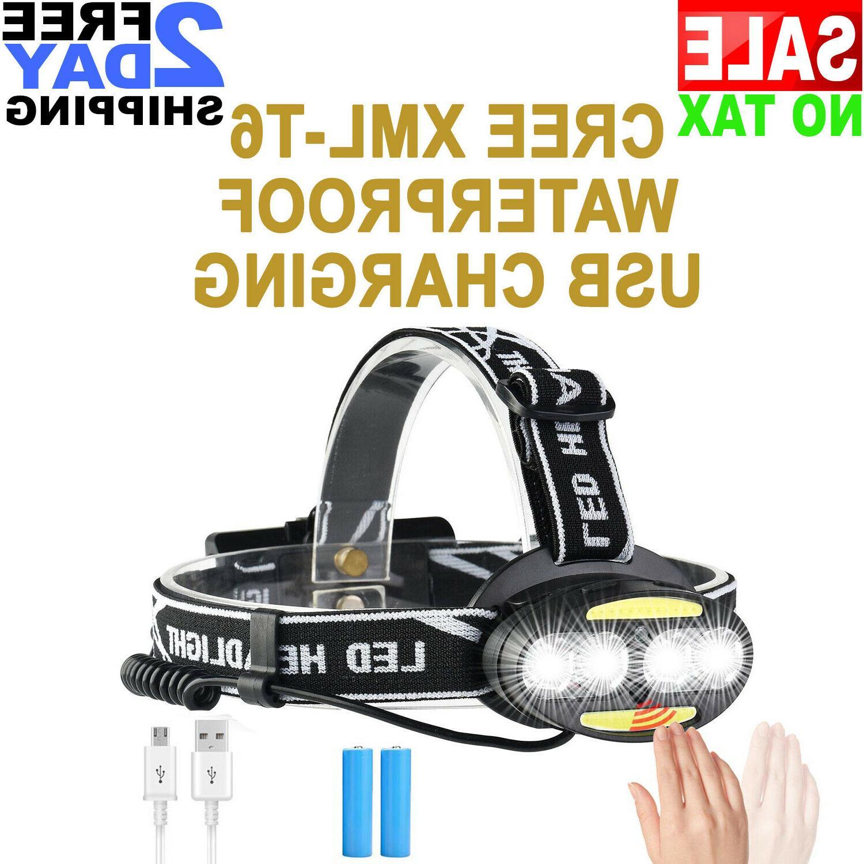 waterproof usb rechargeable led light lamp lamp