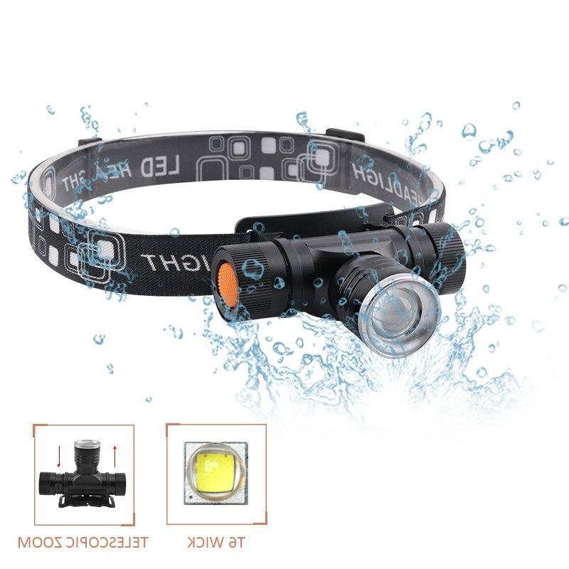 xm l2 led head head led flashlight zoomble torch use