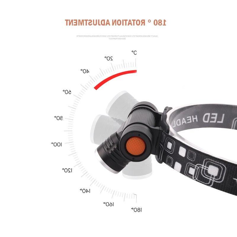 xm head lamp head <font><b>waterproof</b></font> usb torch