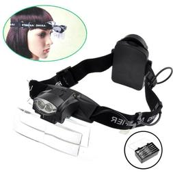 Head Lamps for Adults Lighted LED Headband Lightweight with