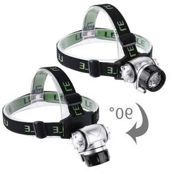 LE CREE Headlamp LED Flashlight for Camping Running Hiking R