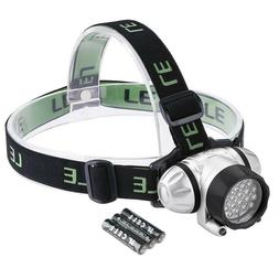 LE Headlamp LED 4 Modes Headlight Battery Powered Helmet Lig