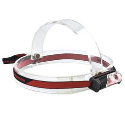 LED AAA Battery Powered Headlamp White&Red Headlight Torch B