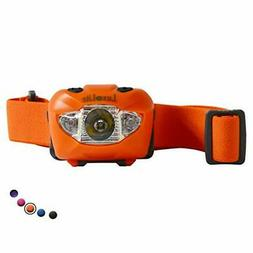 LED Flashlight  Red Led Light Head Lamps Headlamp for people