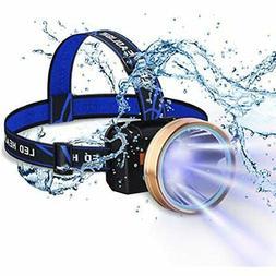 LED Head Lamp For Adults, Headlamp Flashlight Waterproof, Re