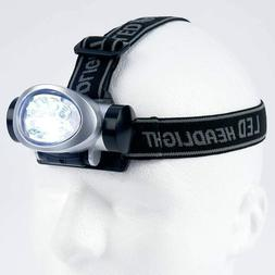 2  LED HEAD LAMP LIGHT FLASHLIGHT HEADLAMP FOR HANDS FREE