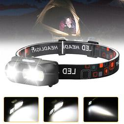 LED Headlamp Flashlight Head Torch Light 6 Mode Adjustable H