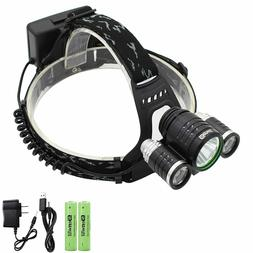 Genwiss Led Headlamp Flashlight, Super Bright 3000 Lumen Hea
