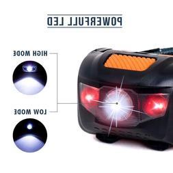 led headlamp flashlight tools camping lantern safety