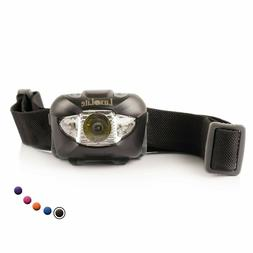 LED Headlamp Flashlight with Red Led Light - Brightest Headl